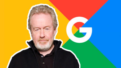 Photo of Ridley Scott laver din film for Google