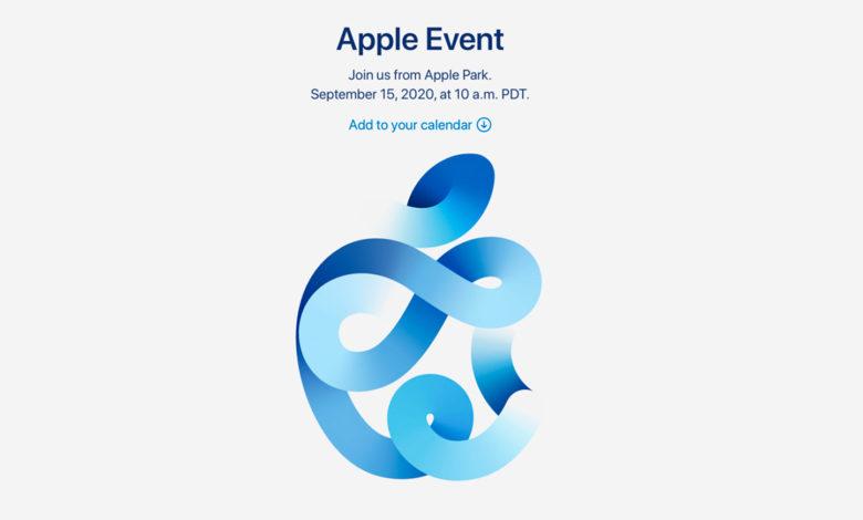 Photo of Apple holder event 15. september