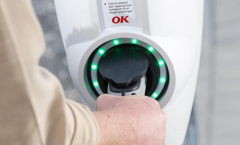 Photo of Oplad elbilen fra Danmarks største batteri