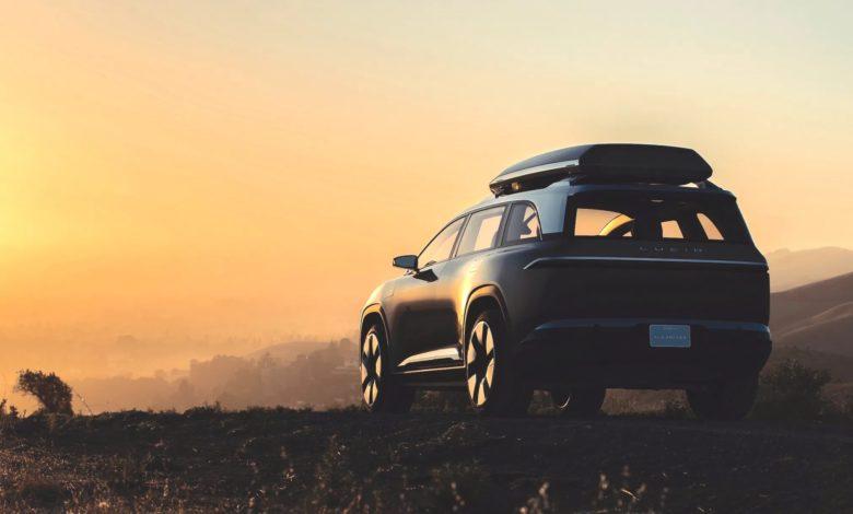 Photo of Lucid teaser for ny, elektrisk SUV