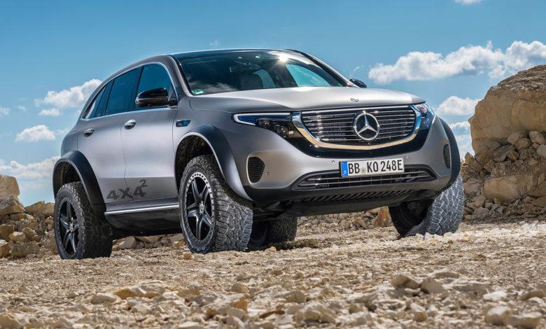 Mercedes EQC 4x4