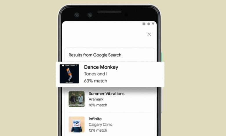 Photo of Nu kan Google finde sange, du nynner