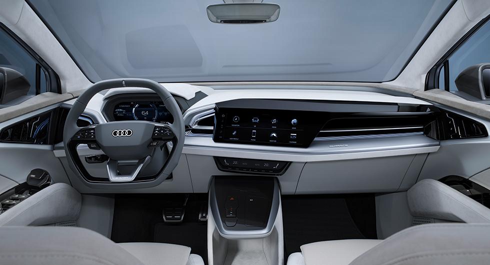 Audi Q4 e-tron interiør
