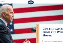 Det Hvide Hus hjemmeside