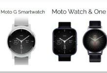 Motorola er på vej med nye smartwatches i år