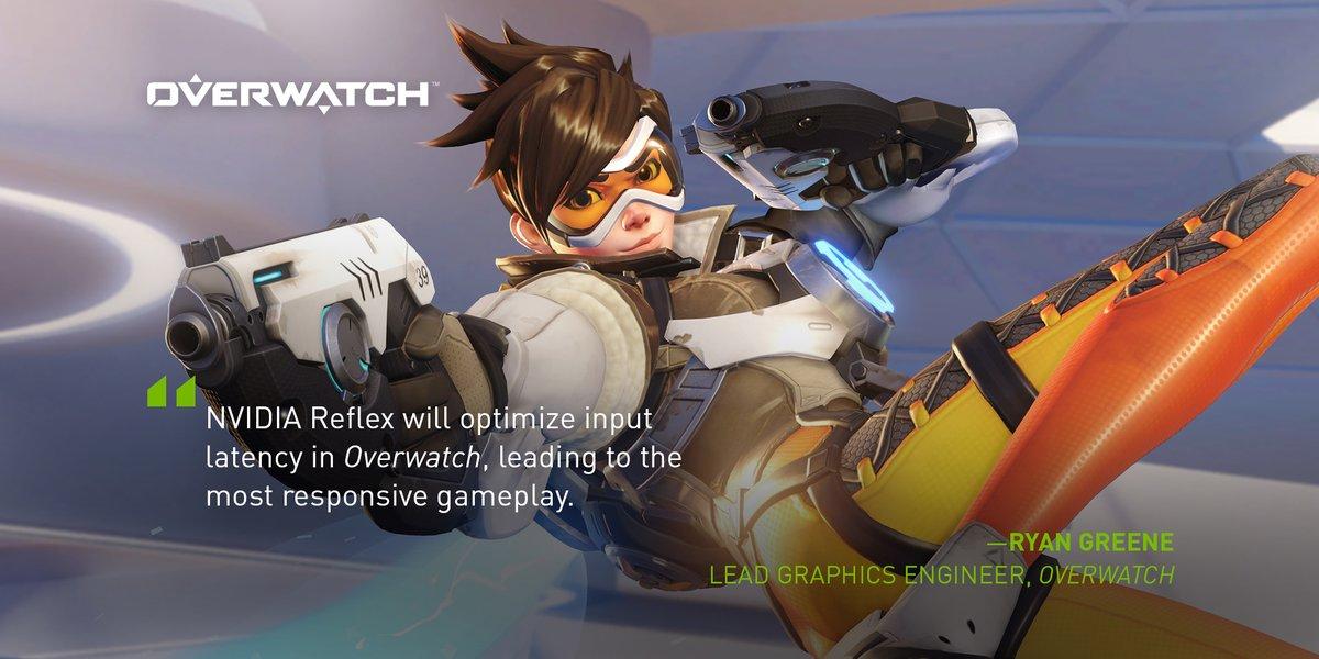 Nvidia Reflex lander til Overwatch i en ny opdatering
