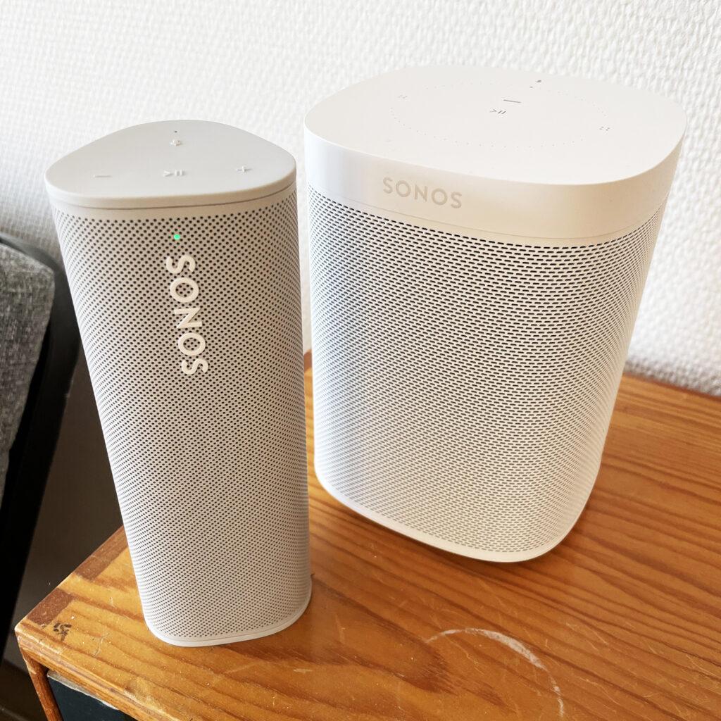 Sonos Roam Sonos One