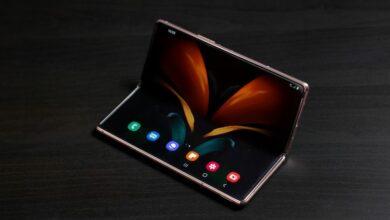 Samsung Galaxy Z Fold 3 er udstyret med kamera under skærmen