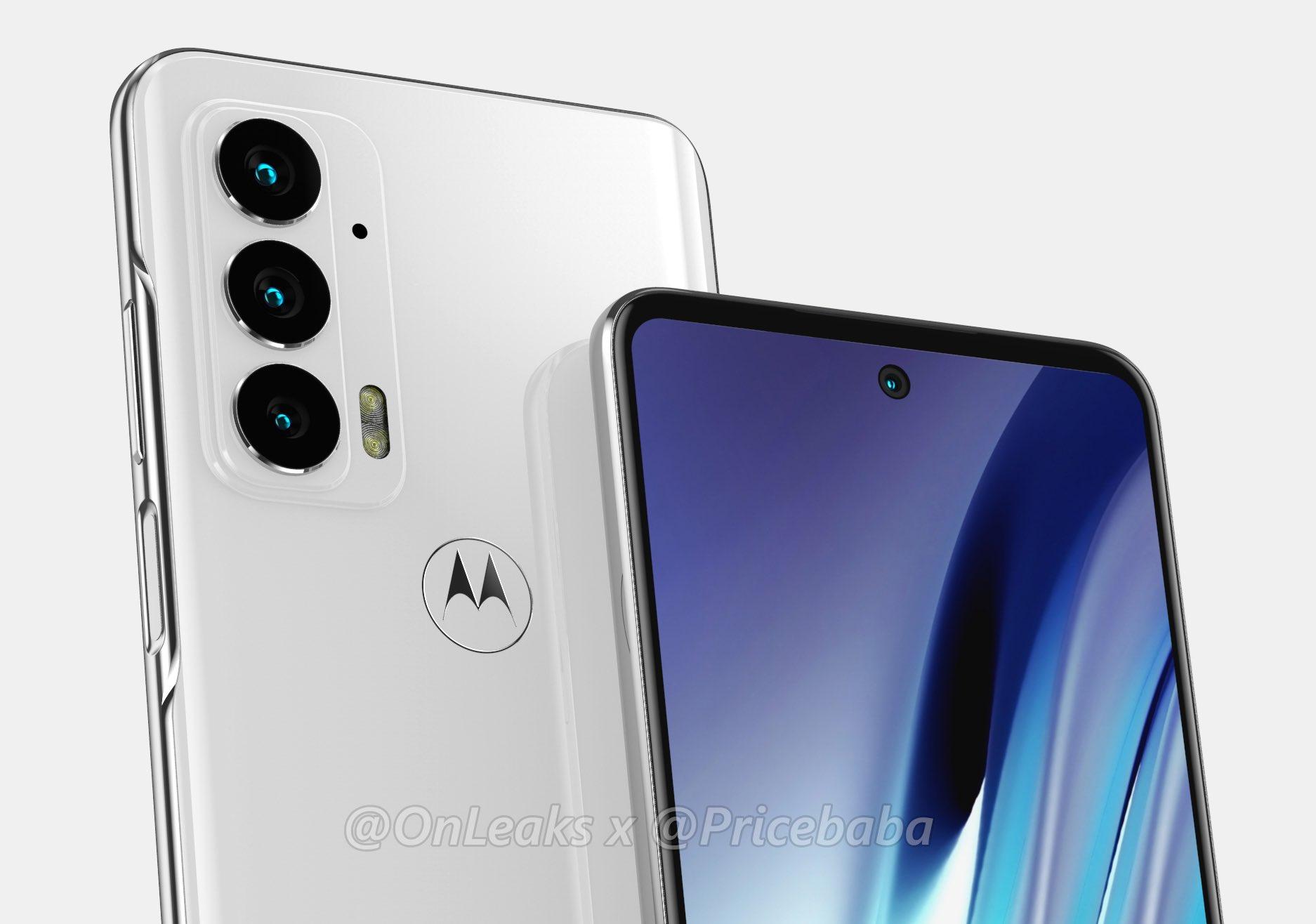 Motorola Edge 20 med 108MP kamera lækket