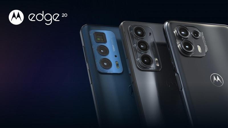 Motorola klar med tre spændende telefoner i Edge 20-serien
