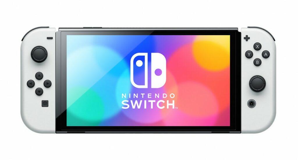 Nintendo Switch med OLED-skærm