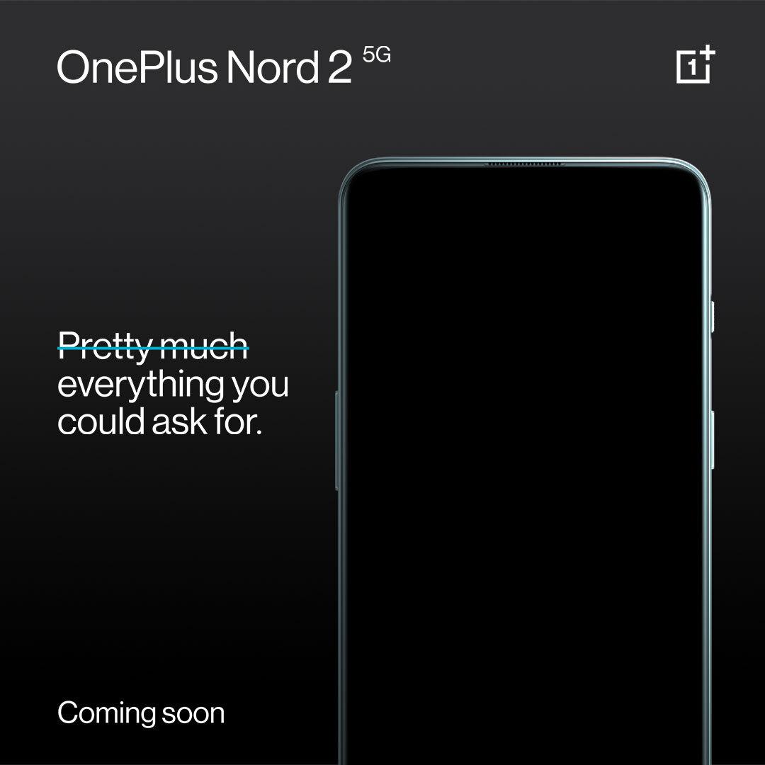 OnePlus bekræfter - Nord 2 kommer snart