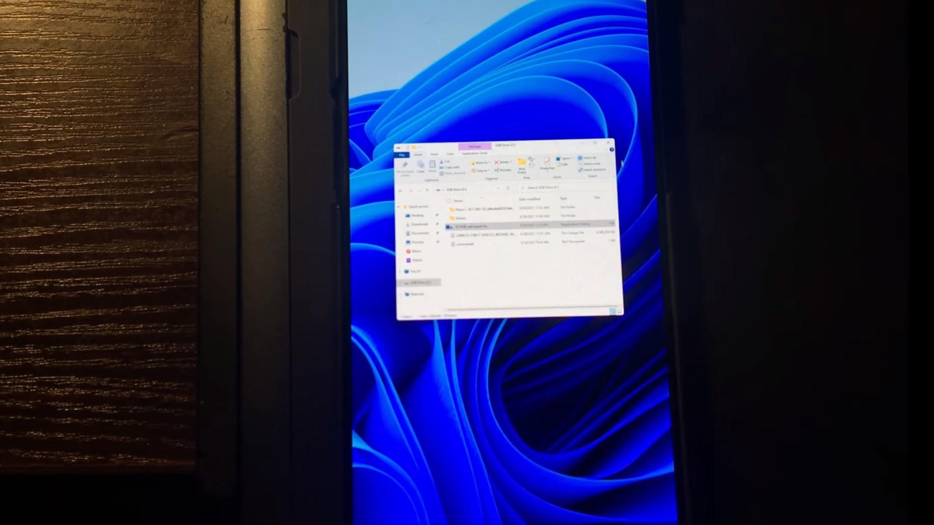 Se Windows 11 køre på en OnePlus 6T