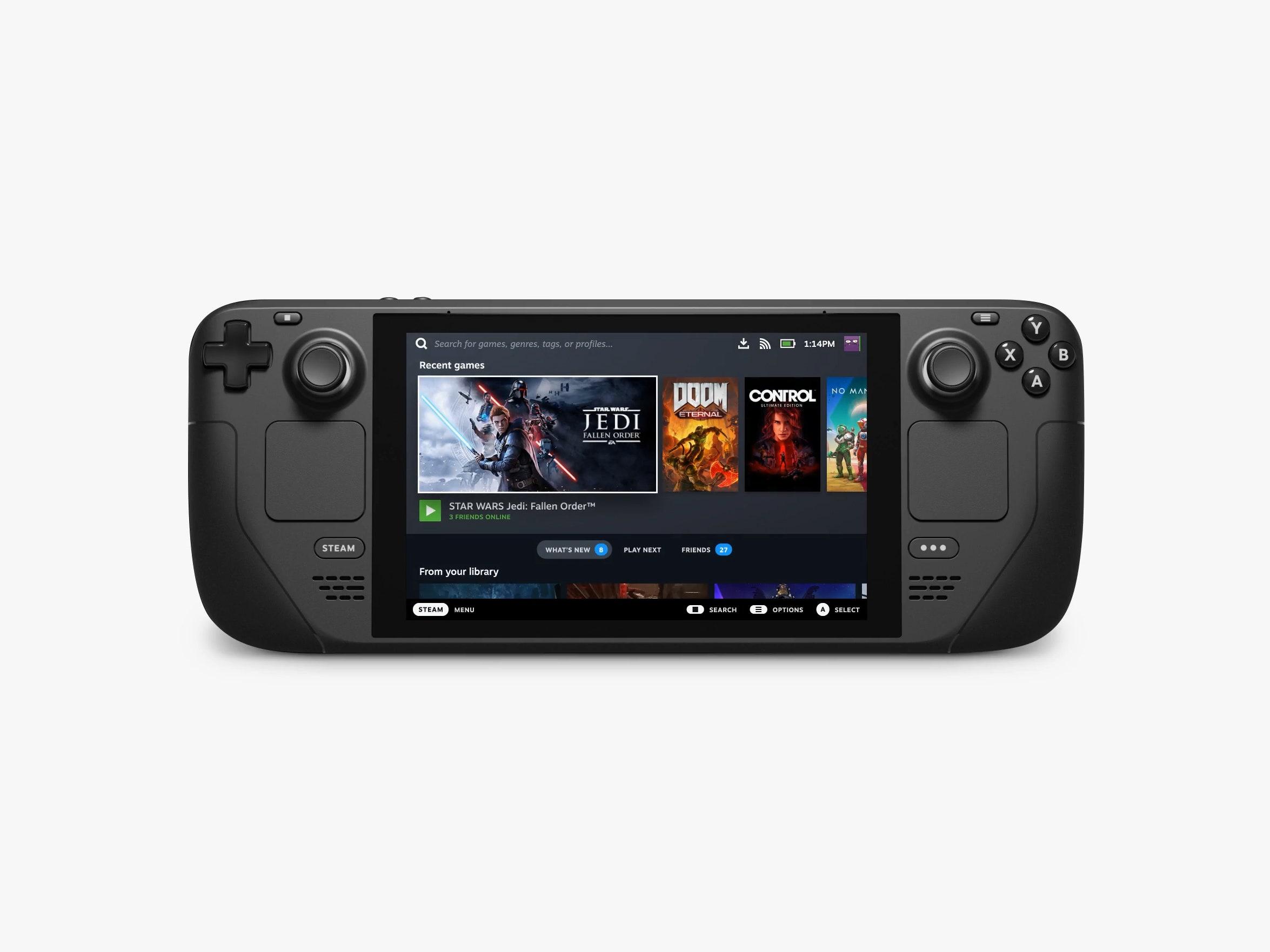Valve introducerer håndholdt gaming PC - Steam Deck