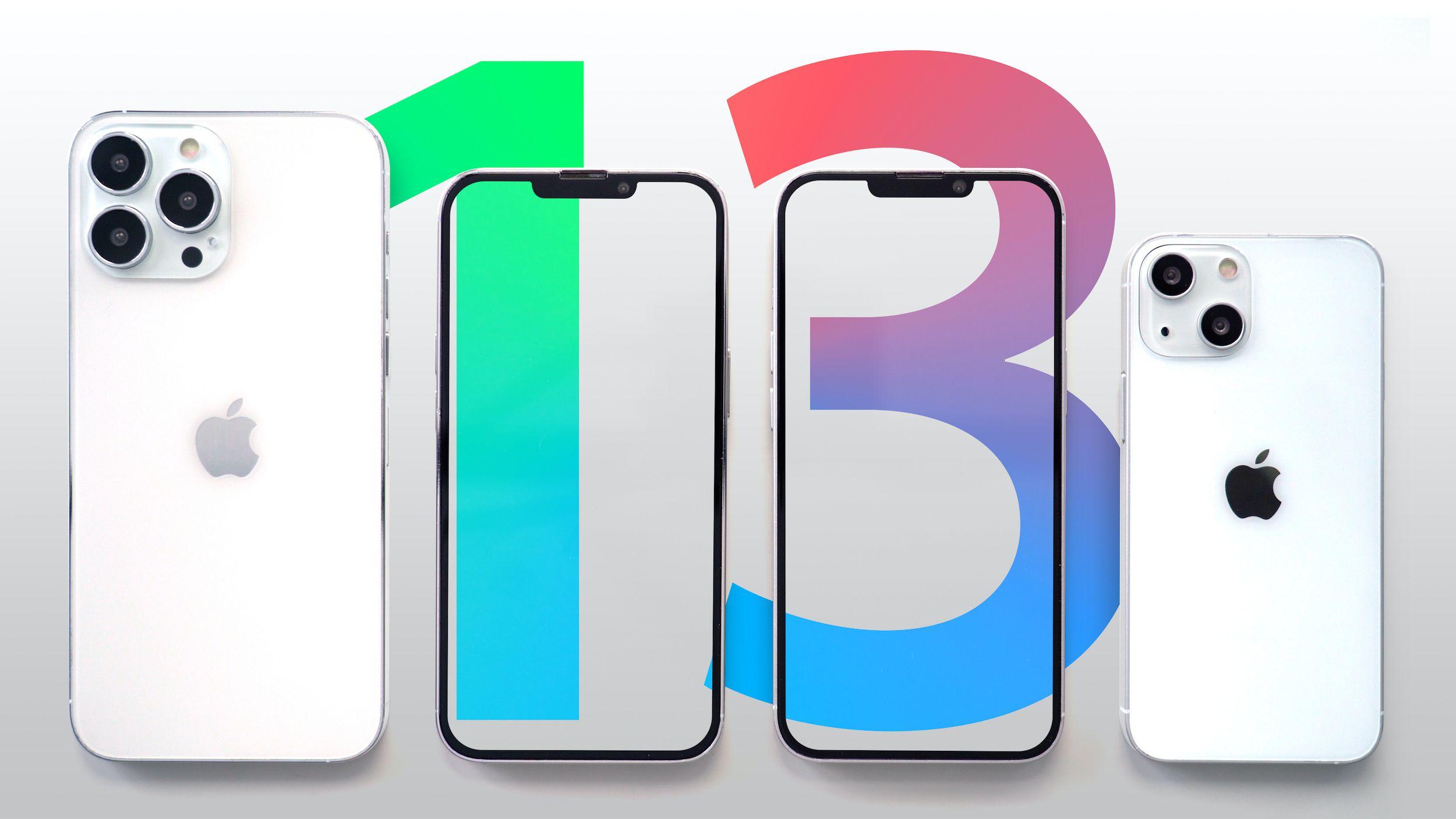 Rygte - iPhone 13-serien præsenteres den 14. september