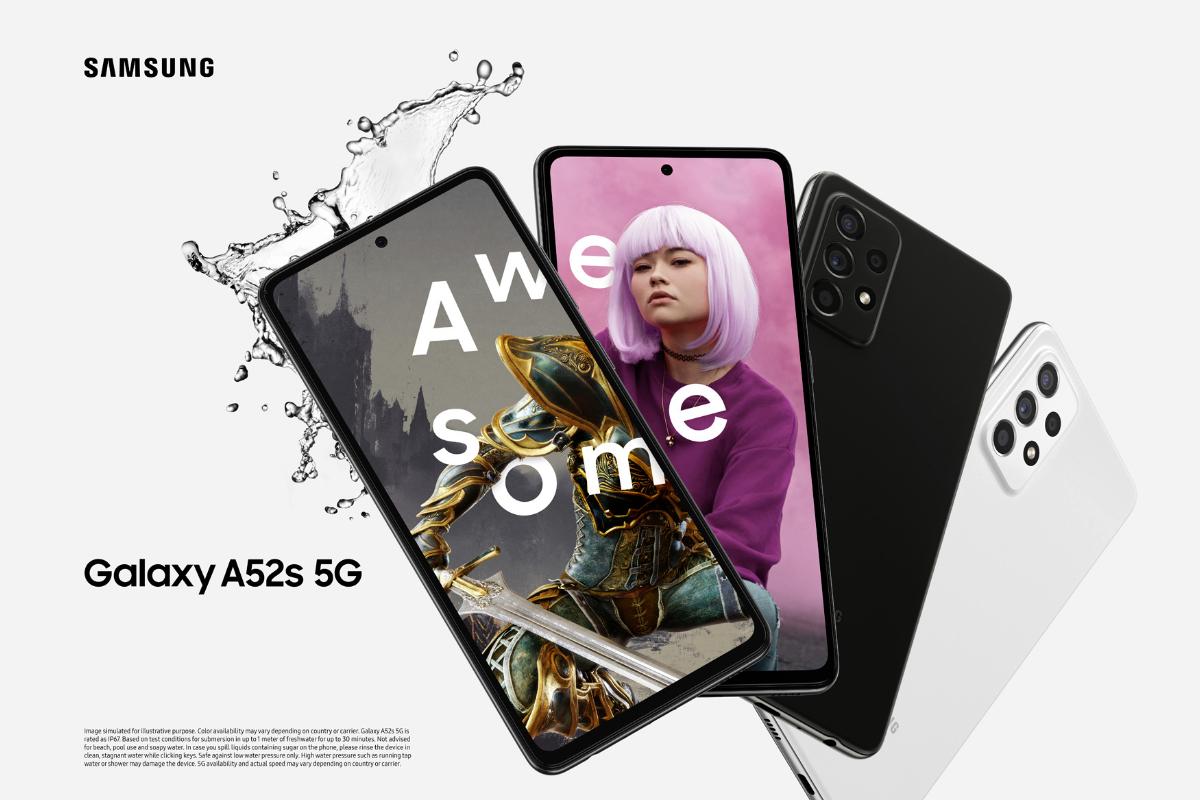 Samsung klar med ny mellemklasse-telefon - Galaxy A52s 5G