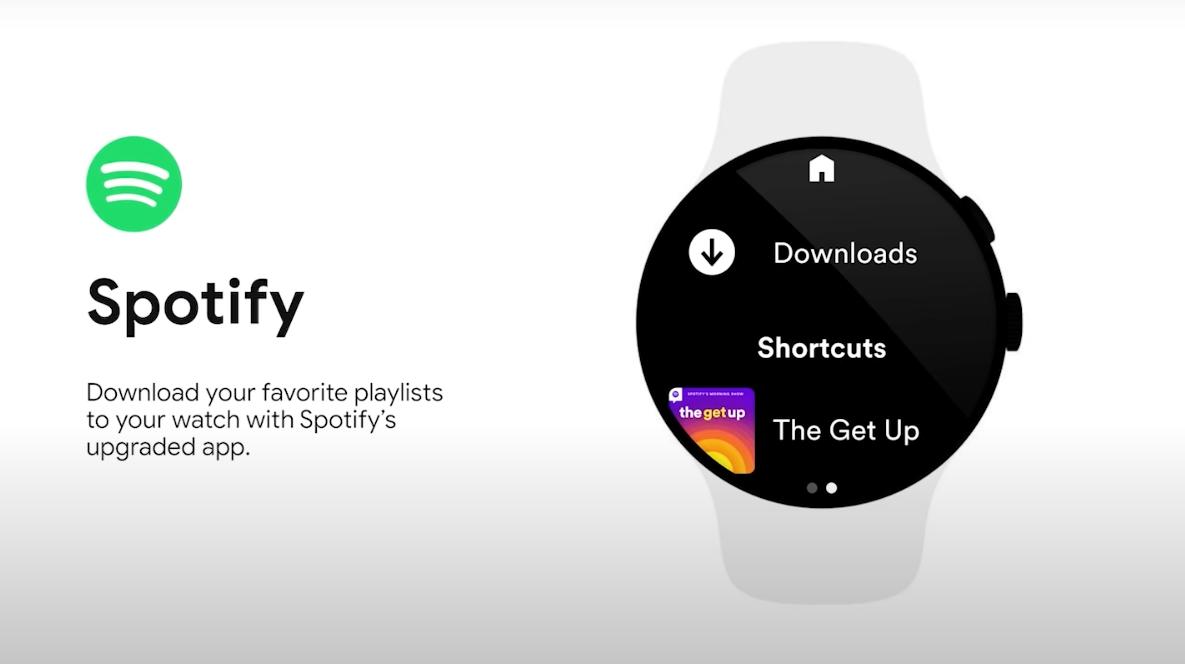 Spotify på Wear OS får offline afspilning