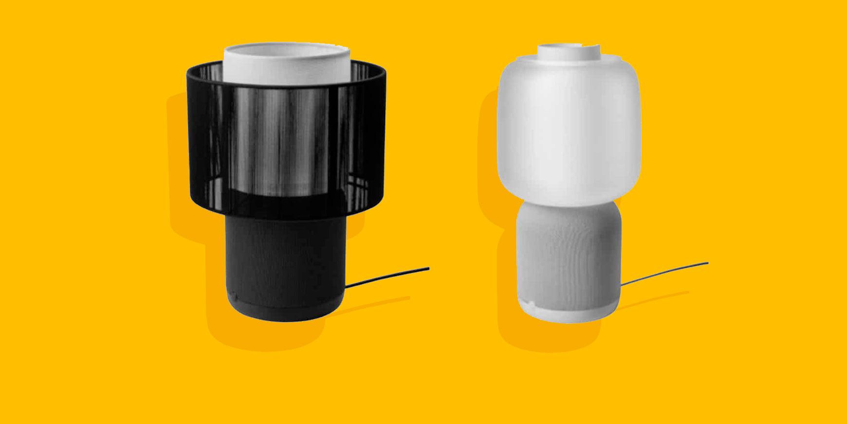 Symfonisk bordlampe