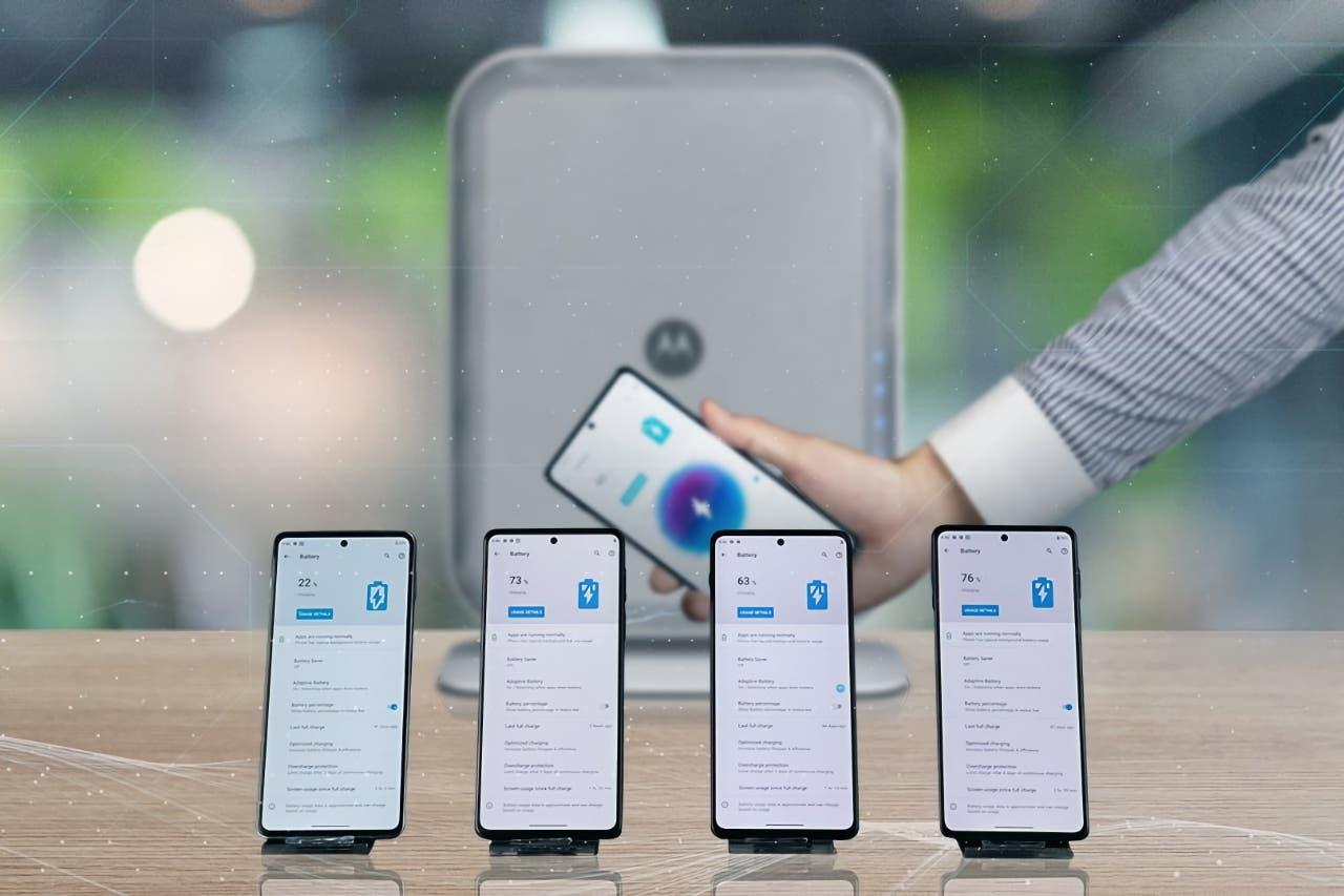 Motorola fremviser over-the-air opladning
