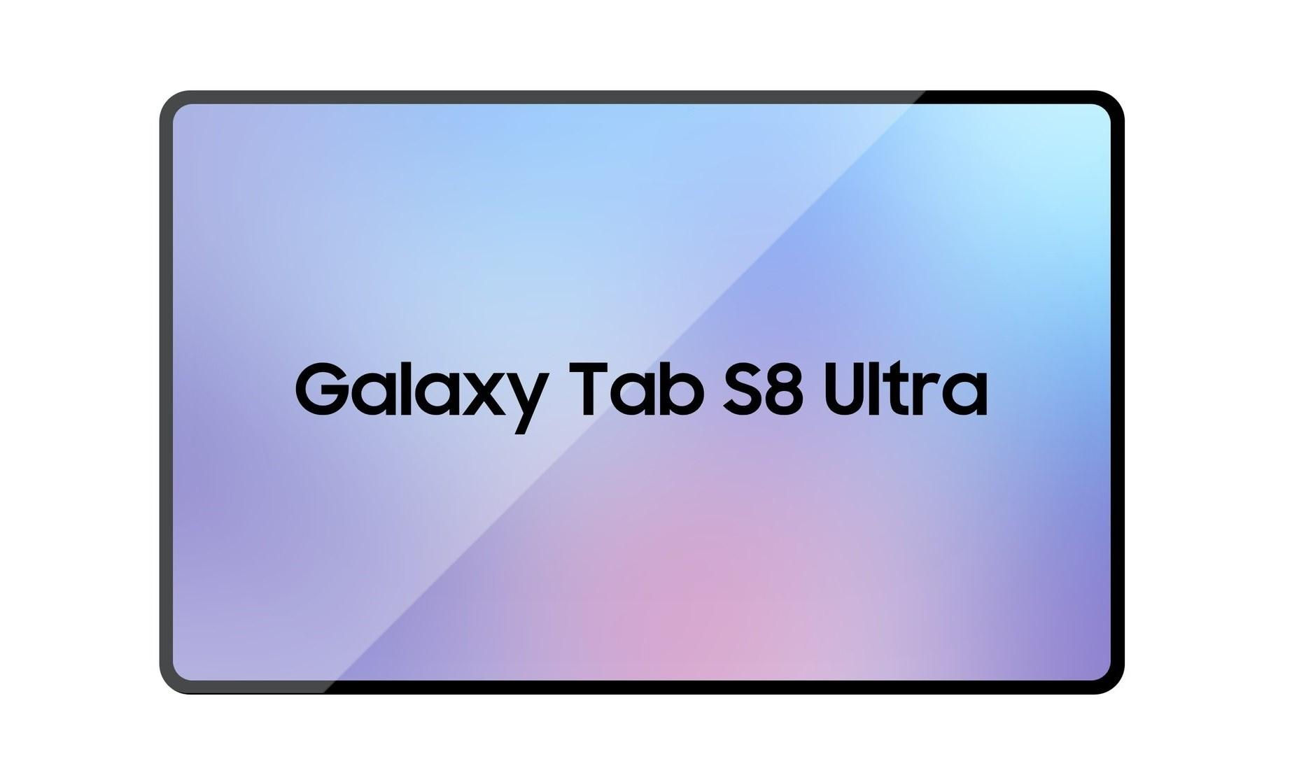 Rygte - Samsung Galaxy Tab S8 Ultra får en stor 14,6 OLED-skærm
