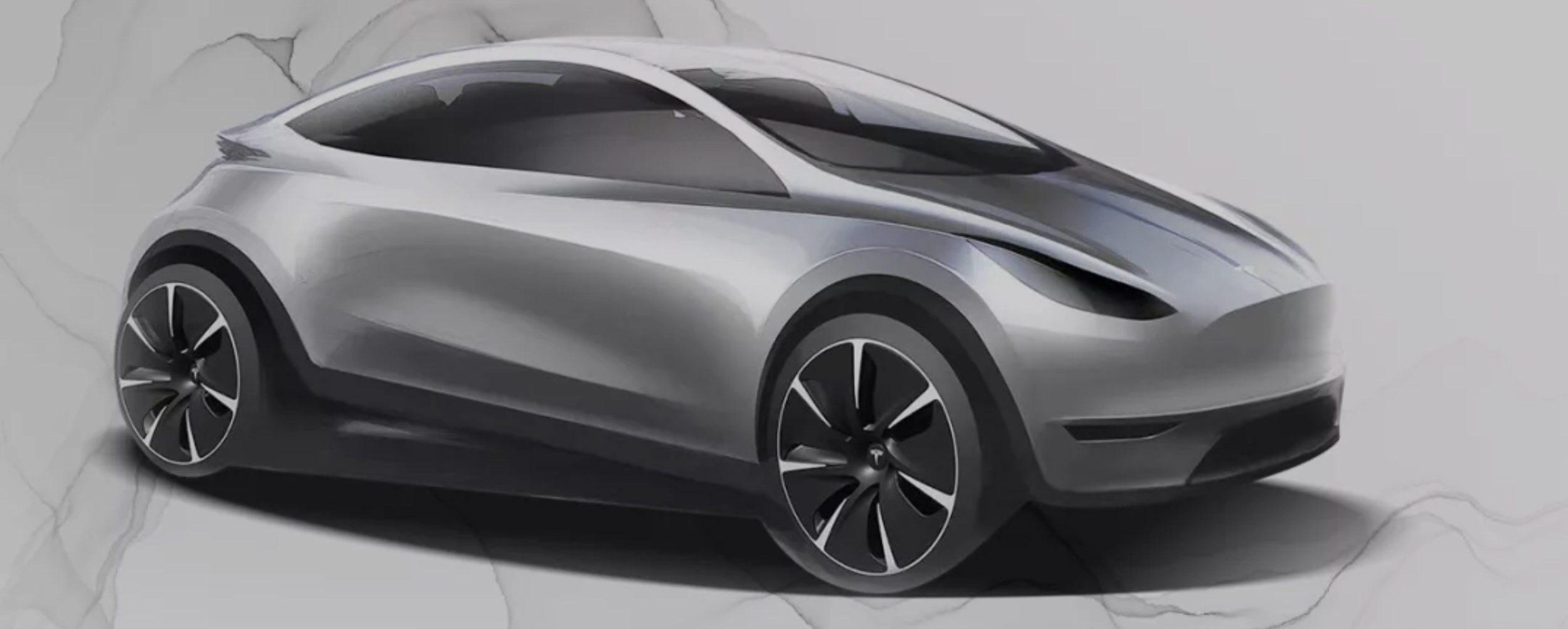 """Tesla """"Model 2"""" (Billede: Tesla)"""